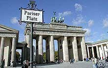Das Brandenburger Tor am Pariser Platz