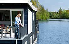 Urlaub im Hausboot in Center Parcs